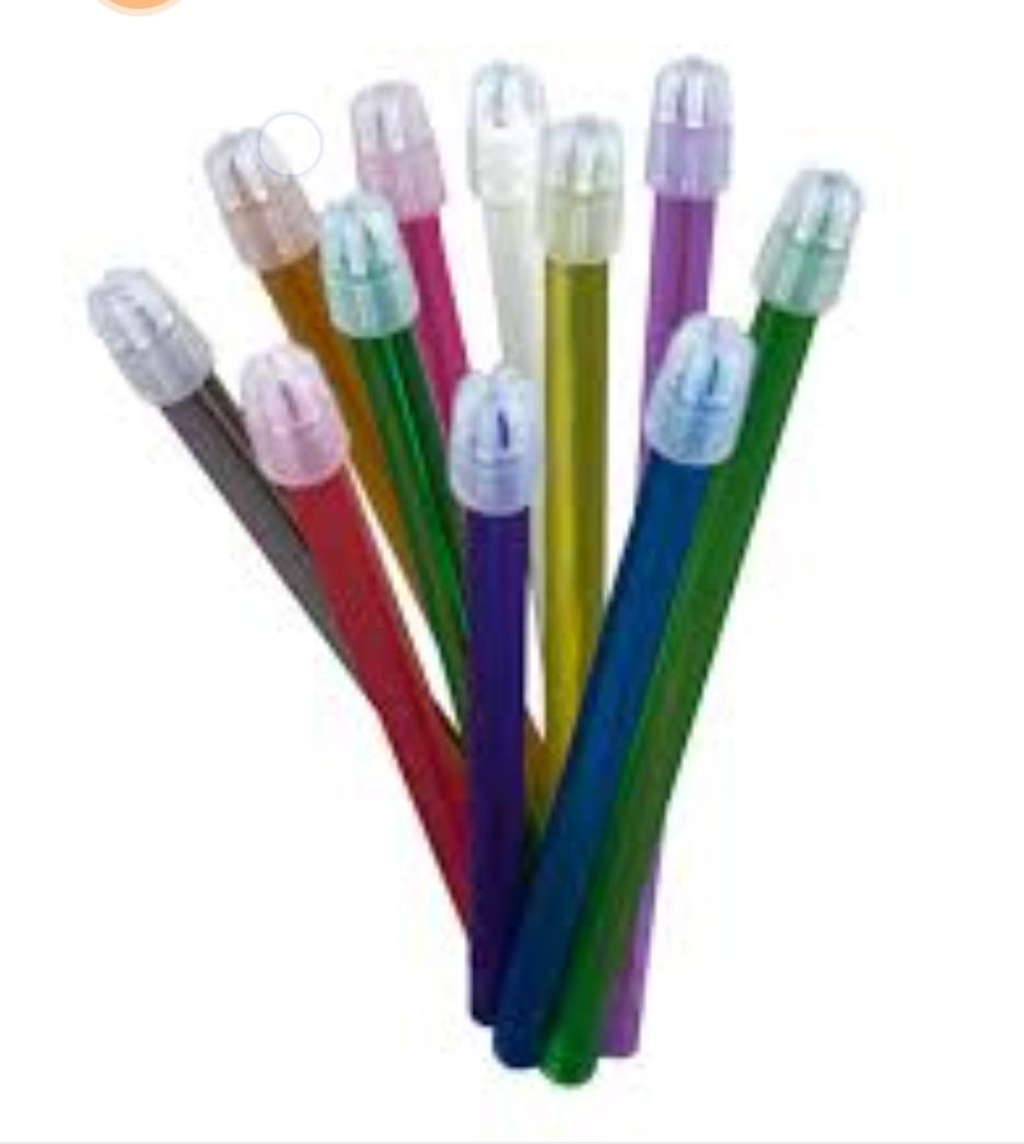 بهترین سرساکشن دندانپزشکی یکبارمصرف رنگی