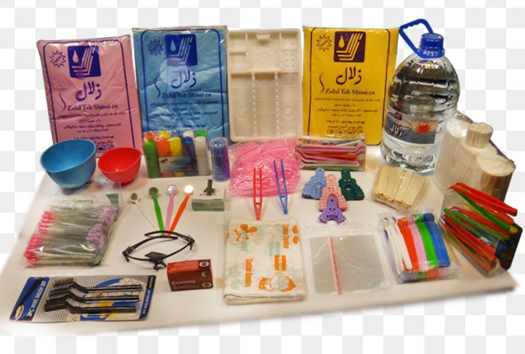 تجهیزات یک بار مصرف دندانپزشکی