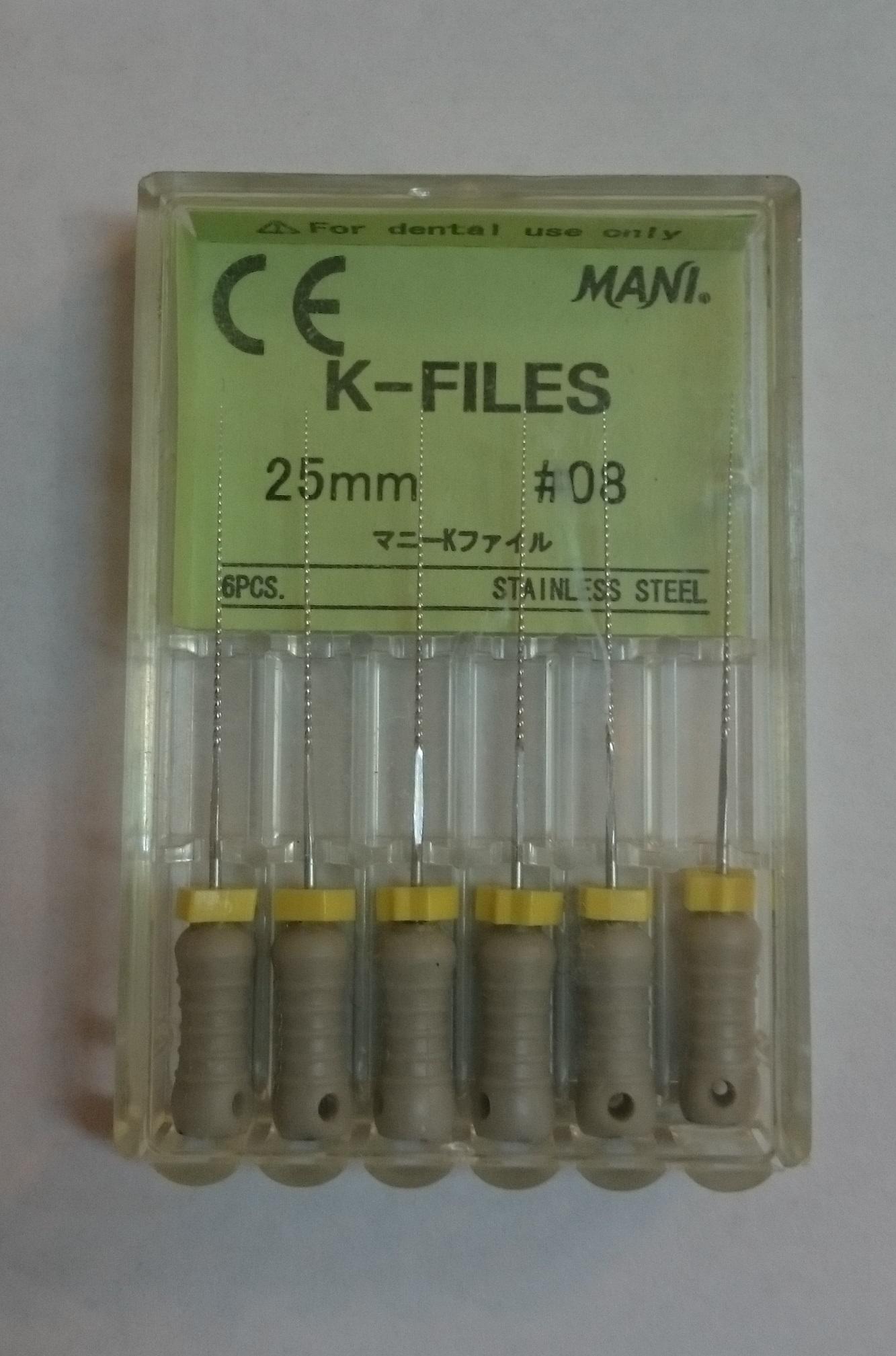 فروش انواع فایل دندانپزشکی به قیمت عمده